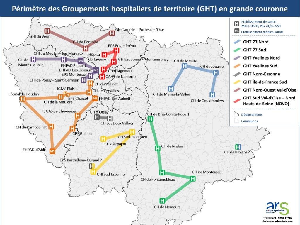 GHT Ile-de-France grande couronne