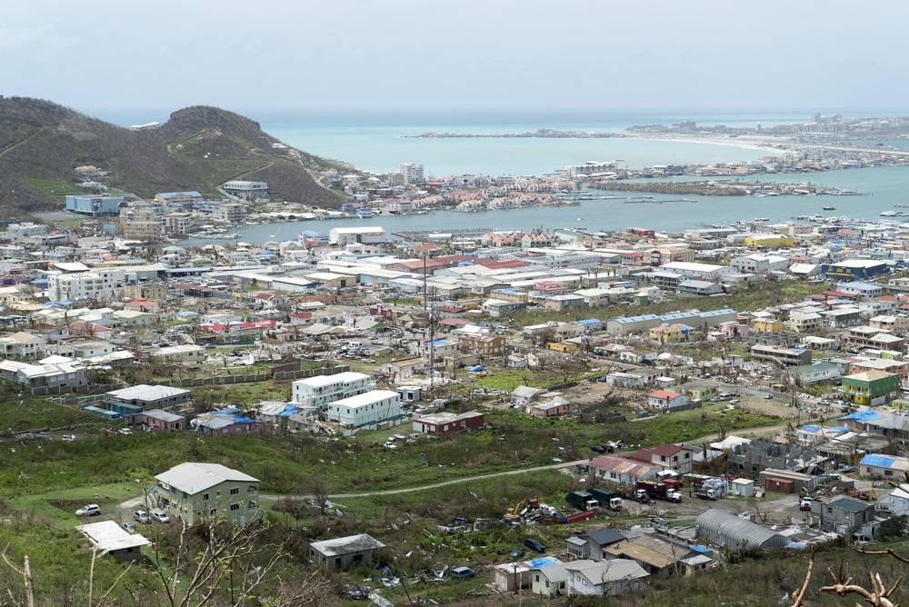 Saint-Martin après le passage de l'ouragan Irma
