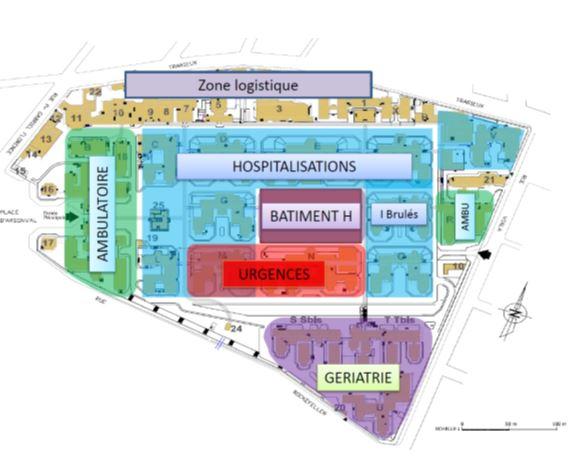 L'organisation future de l'hôpital Edouard-Herriot