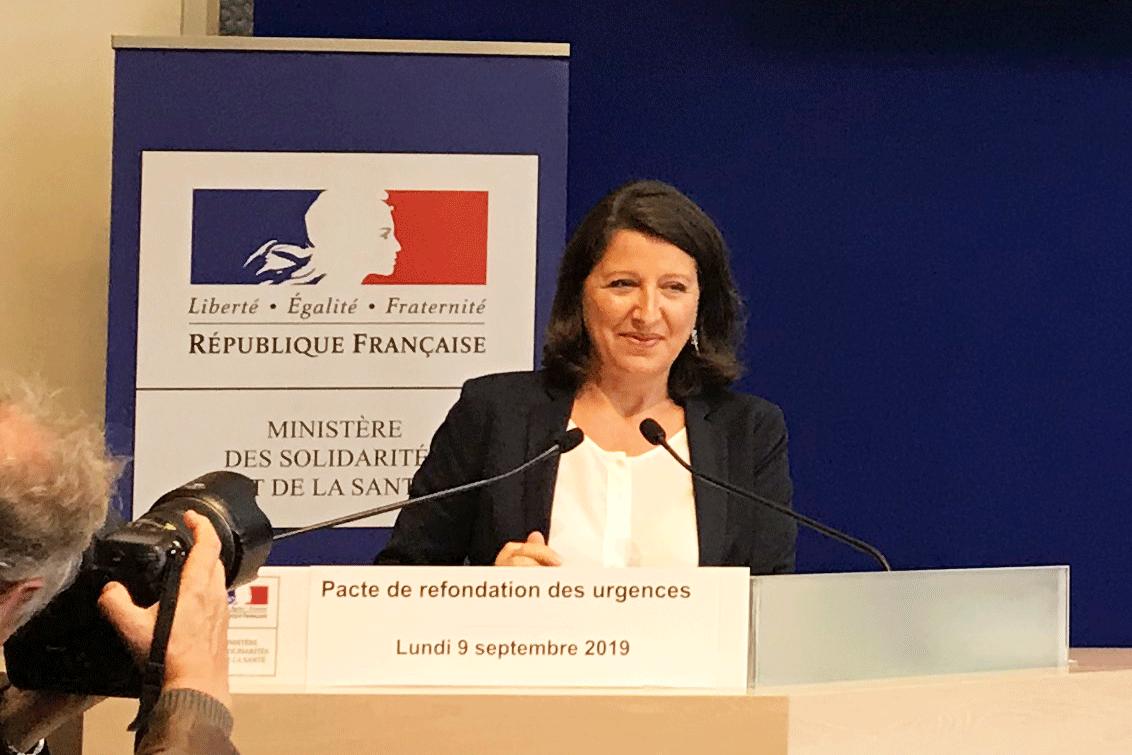 Agnès Buzyn (photo Valérie LESPEZ)