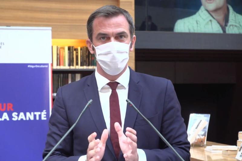 Olivier Véran lors de la clôture du Ségur de la santé, le 21 juillet 2020 (capture d'écran)