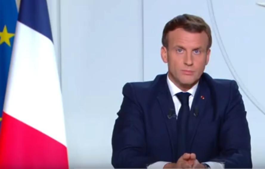 Emmanuel Macron, le 28 octobre - capture d'écran