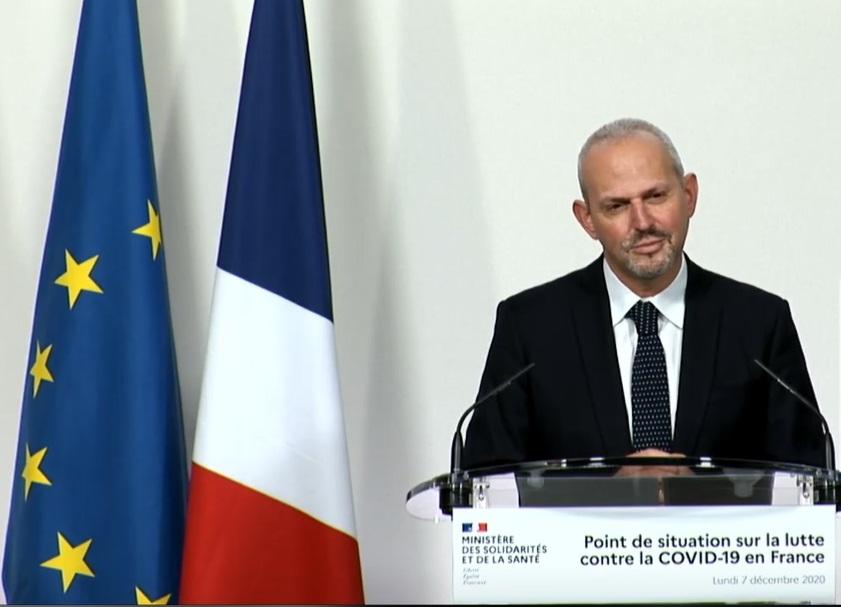Jérôme Salomon, le 7 décembre - capture d'écran
