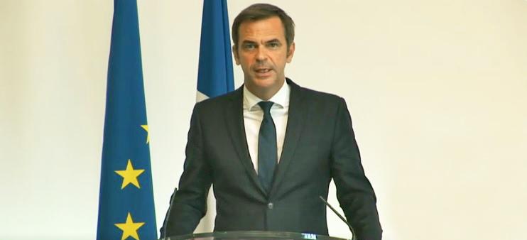 Olivier Véran le 26 août 2021. Photo: compte Twitter du ministère des solidarités et de la santé