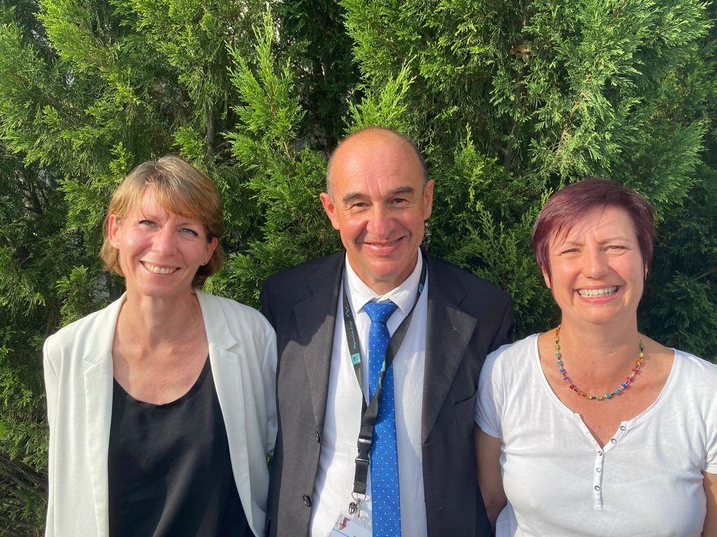 De gauche à droite: Delphine Maucort-Boulch, Vincent Piriou et Aurélie Fontana, source: HCL